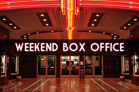 weekend box office - April 22 - 24