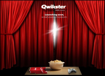qwikster takes over netflix dvd services
